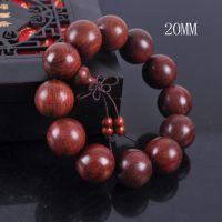 小叶紫檀顺纹批发 2.0男女士12mm佛珠手串木手链 木质工艺品