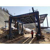 隧道钢拱架安装台车 拱架安装机