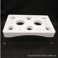 烘焙工具/塑料裱花架 裱花工具 放置架 蛋糕裱花操作台 厂家直销
