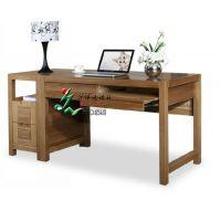 实木书桌 转角书桌 榆木书桌 儿童书桌 写字台书桌 现代简约书桌 升伟家具