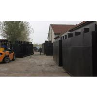陕西省环森环保污水工程 地埋式一体化污水处理设备 气浮机 过滤器 加药装置