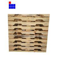 青岛挖豁松木托盘 特价供应松木栈板特制豁口可四面进叉美观实用