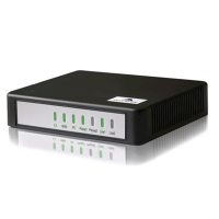 NewRock迅时网关HX422E 2分机2外线SIP/voip混合语音网关断电逃生