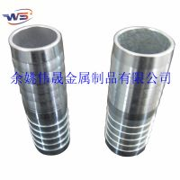供应不锈钢金属软管接头 外螺纹碳钢水管快速接头 宝塔形管带接头