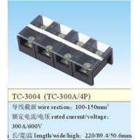 品哲工控 大电流接线端子 固定式 TC-3004 300A/4P