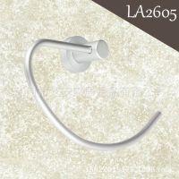 LA2605 厂家直销浴室毛巾环 太空铝毛巾架 卫浴毛巾环五金挂件