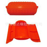 户外便携折叠硅胶餐具硅胶保鲜盒防烫耐高温无毒无异味