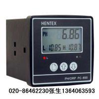 供应PH计, PH仪表,PH分析仪,HENTEX,PC-890
