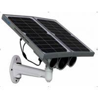 野外无线太阳能摄像机T100 矿区安装摄像头 内置锂电池 内置插卡存储