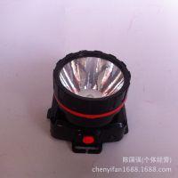 裕雅充电LED强光头灯 塑料夜钓灯 探照灯手电筒批发灯具