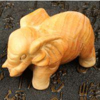 厂家直批太行崖柏手把件 千年崖柏大象木雕工艺品 香味淡雅高油性