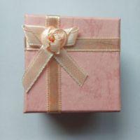 2015 精美方形首饰品盒 戒指纸盒 精致耳饰礼品包装盒