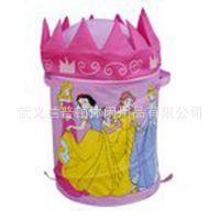 新款迪士尼卡通超大可爱脏衣桶储物桶可折叠玩具收纳桶批发