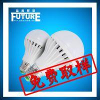 LED塑包铝6W球泡 节能照明室内led灯散热好产品 led球泡灯套件