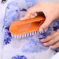 厂家直销 彩色多功能 软毛鞋刷子清洁洗衣刷子塑料板刷洗鞋刷