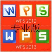 金山WPS office 2013 标准版 深圳金山代理商