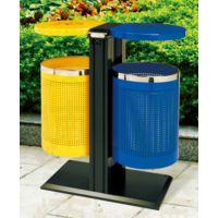 供应麦穗P-P109冲孔分类垃圾桶汕头惠州大学高中中专学校专用分类垃圾桶定制