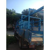 出口菲律宾非洲的液压油缸升降货梯整机定做 广州升降台厂家
