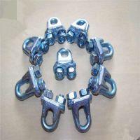 m20电镀锌钢丝绳卡头价格——永年塔吊钢丝绳卡头生产厂家 元隆公司