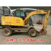 上海新源二手挖掘机 处理各种型号二手轮式挖掘机