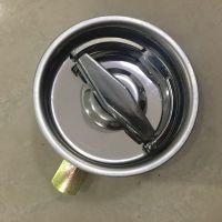 不锈钢消防箱门锁 圆形锁 灭火器箱锁 消防栓门锁