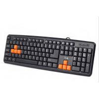游戏键盘 实用电脑配件批发 办公耗材Q-5 专业防水办公USB键盘