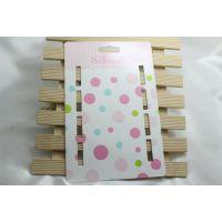发带头带卡纸包装 时尚可爱儿童饰品配件 厂家生产一卡4个头带