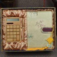 2015新款礼品 竹木签字笔 竹子计算器 高档文化用品 新奇特文具