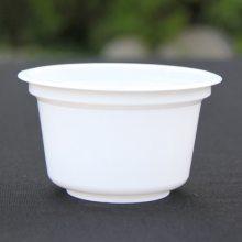 生产定制pp老酸奶碗200ml可彩印