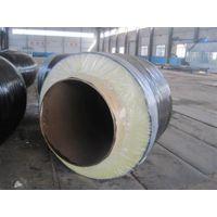 蒸汽保温管|洪浩管道(图)|钢套钢直埋蒸汽保温管
