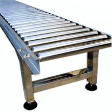 乾德机械供应循环手推式无动力滚筒输送机 滚筒线 输送机设备配件