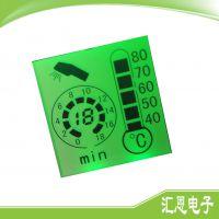 厂家专业设计 热水器LCD液晶屏 定制热水器段码液晶屏