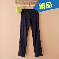 外贸原单   休闲百搭春秋季女式长裤   低腰直通修身长裤12D620A