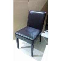 深圳厂家订做 酒店餐厅椅子 快餐店软包椅子 甜品店五金餐椅