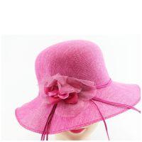 新款夏季沙滩帽韩版户外遮阳帽子 女士防晒紫外线草帽大沿帽子