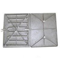 阿普莱斯40*50cm热转印发热铝板 热转印铸铝电热板 烫画机使用