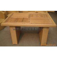 户外休闲家具 咖啡桌椅 柚木桌子