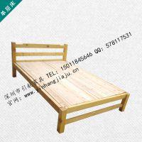 供应高性价比实木床 学生单层床 公寓床 出租房单层实木床