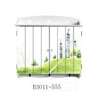 批发 装饰美观 美式田园风格木制电表箱遮档箱3011-555