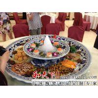 供应酒店装海鲜用的陶瓷大盘子