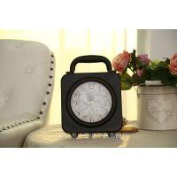 厂家直销工艺摆钟 家居工艺品摆钟 创艺闹钟 铁艺装饰座钟