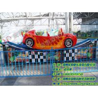 公园趣味游艺机宏德游乐供应2017新型轨道滑行宝马飞车 跑车车型F1极速飞车