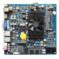 鑫赛科YL-1037H6 迷你itx主板 小型迷你电脑 工业主机 赛扬1037U双核CPU双重局域网