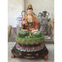 苍鸿塑造观音菩萨玻璃钢佛像定做彩绘观音菩萨佛像