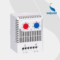 saipwell/赛普zr011导轨式安装加热散热温控器 温湿度温控器