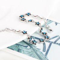 日韩精品饰品 镶嵌钻石水晶手链 韩国精品女款手环送女友送礼物