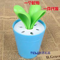 供应 蔬菜系列 生活用品  塑料大白菜刀叉盆栽 BJ-602刀叉系列