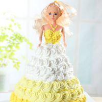 芭比娃娃吊花发型 29cm 模具小蛋糕杯