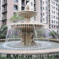 公园石雕喷泉汉白玉石雕喷泉 厂家供应
