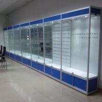 精品展柜化妆品展柜 药店货架柜子天津展柜厂 手机挂件柜子柜台订做